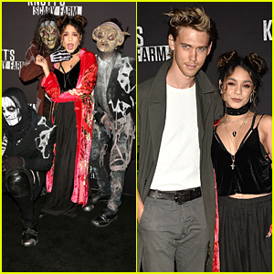 Vanessa Hudgens & Austin Butler Couple Up For Knott's Scary Farm 2016