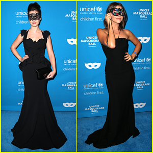 Vanessa Marano Glams Up For UNICEF's Masquerade Ball Just Days Before Her Halloween Birthday