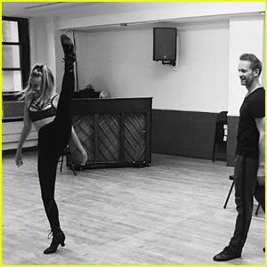 Veronica Dunne Shows off Incredible Dance Move During Broadway Rehearsal!