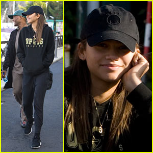 Zendaya Enjoys Italy Before Getting to Work!