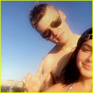 Ariel Winter Does A Little Dance in Cabo!