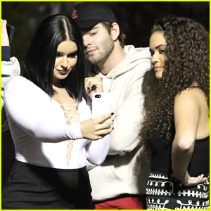 Ariel Winter Debuts New Short Hair at Kanye Concert with Madison Pettis