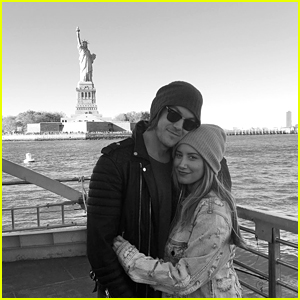 Ashley Tisdale & Hubby Christopher French Become Tourists in NYC
