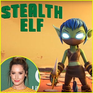 Ashley Tisdale Shares New 'Skylanders Academy' Character Stealth Elf for Netflix