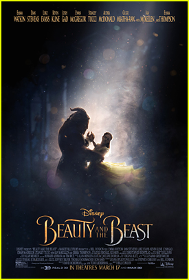 Emma Watson Debuts New 'Beauty & The Beast' Poster