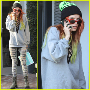 Bella Thorne Gives Her Fans a Thanksgiving Shout Out