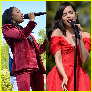LISTEN: China Anne McClain & Sofia Carson Belt Out Christmas Songs for 'Descendants' Holiday Special