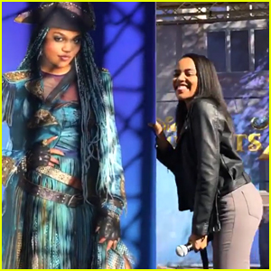 China McClain Shares Uma's Full Look at 'Descendants 2' Signing!