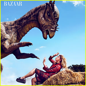 Chloe Moretz Encounters a Dinosaur in Latest Photo Shoot!