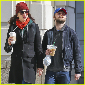 Daniel Radcliffe & Girlfriend Erin Darke Head Out on NYC Stroll