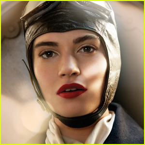 Lily James Stuns in Burberry's Holiday Campaign Video