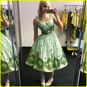 Hairspray Live's Dove Cameron Gives Fans Sneak Peek at Wardrobe Fitting!