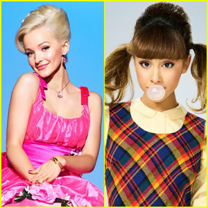 Ariana Grande & Dove Cameron Became Instant 'Hairspray Live!' Besties!