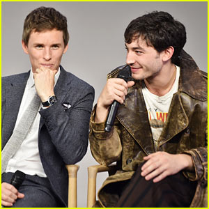 Eddie Redmayne & 'Fantastic Beasts' Co-Stars Get Ready for Premiere!