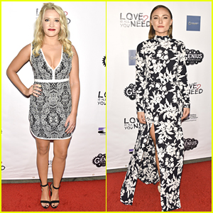 Emily Osment Rocks A Red Lip For 'Love Is All You Need?' Premiere