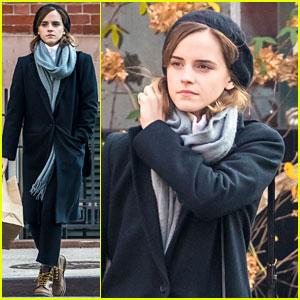 Emma Watson's Belle Speaks with Gaston in New 'Beauty & the Beast' Photo!