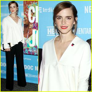 Emma Watson Steps Out at 'City of Joy' Premiere