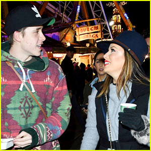 Brooklyn Beckham Hangs Out With His Mom's Best Friend at Holiday Event!
