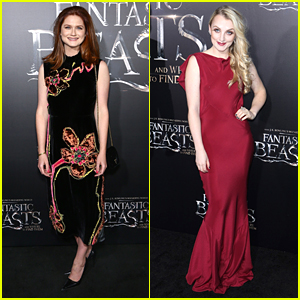 Ginny Weasley & Luna Lovegood Reunite for 'Fantastic Beasts' Premiere!