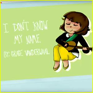 VIDEO: Grace VanderWaal Uses Fan Drawings In 'I Don't Know My Name' Lyric Video