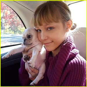 AGT Winner Grace Vanderwaal Gets the Cutest Puppy Ever!