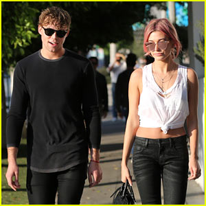 5 Seconds of Summer's Ashton Irwin Grabs Coffee With Hailey Baldwin