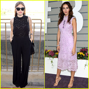 Holland Roden & Camilla Belle Look Chic at Breeders' Cup 2016