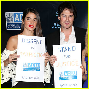 Nikki Reed & Ian Somerhalder Couple Up for Good Cause