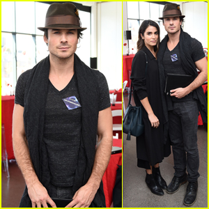 Ian Somerhalder & Nikki Reed Share Their Ideas at PTTOW! Sessions