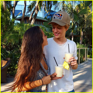 Isabela Moner with her ex-boyfriend Jace Norman
