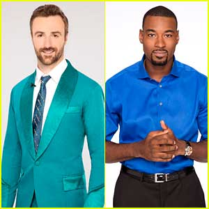 James Hinchcliffe & Calvin Johnson Jr Team Up For Paso Doble on DWTS Season 23 Week 9