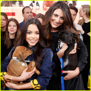 Jenna Ortega Cuddles Cute Puppies on 'GMA'!