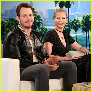 Jennifer Lawrence Tries to Win '5 Second Rule' Against Chris Pratt - Watch Now!