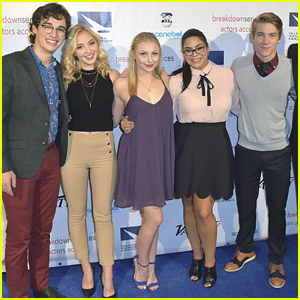 Liv and Maddie's Joey Bragg & Jessica Marie Garcia Reunite at TMA Heller Awards