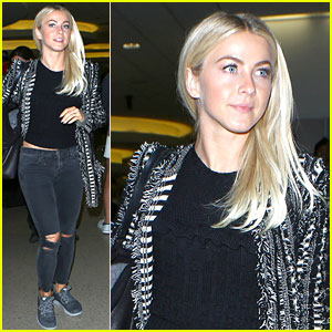 Julianne Hough Thanks Veterans for Their Service