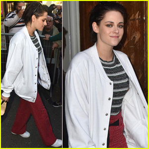 Kristen Stewart Shows Off Her New Brunette Locks!