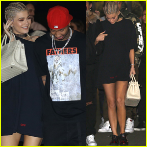 Kylie Jenner & Tyga Head to Another Kanye West Concert