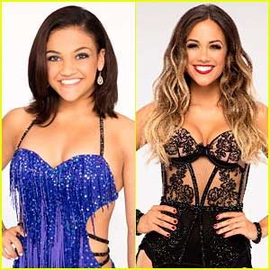 Laurie Hernandez & Jana Kramer Perform Contemporary Duo Dance on DWTS Season 23 Week 9