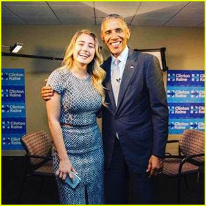 Watch YouTube Star Lia Maria Johnson Interview President Obama!