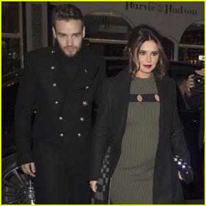 Liam Payne's Pregnant Girlfriend Cheryl Cole Shows Off Baby Bump For First Time!