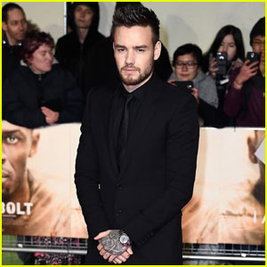 Liam Payne Goes Solo Without Cheryl Cole to 'I Am Bolt' Premiere