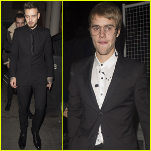 Justin Bieber & Liam Payne Party Together After 'I Am Bolt' Premiere