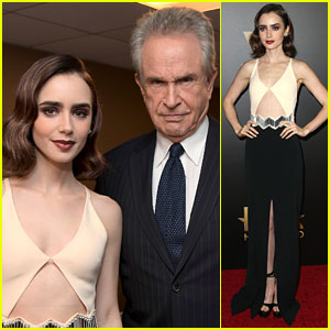 Lily Collins Stuns at Hollywood Film Awards 2016!