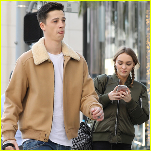 Lily-Rose Depp Gets in Some Hang Time With Boyfriend Ash Stymest