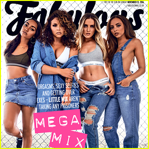 Little Mix's Jade Thirlwall & Jesy Nelson Dish On Relationships with 'Fabulous' Mag