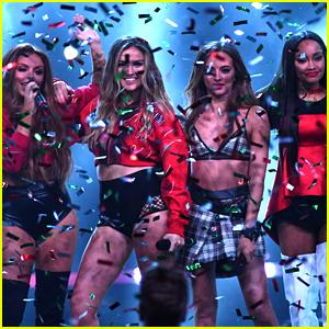 Little Mix Celebrate #1 Album 'Glory Days'!