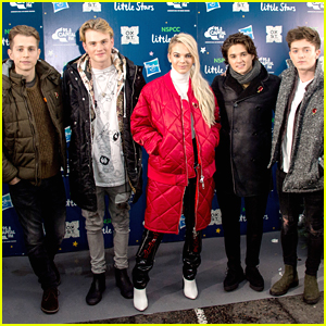 The Vamps & Louisa Johnson Turn on The Holiday Lights in London