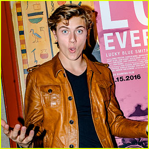 Lucky Blue Smith Shares His Advice for Aspiring Writers