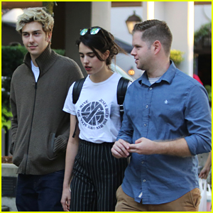 b42ef1351c5 Nat Wolff   Margaret Qualley Hang Out in Vancouver