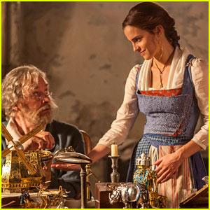 Emma Watson Wears Belle's Classic Blue Dress in New 'Beauty' Photos!